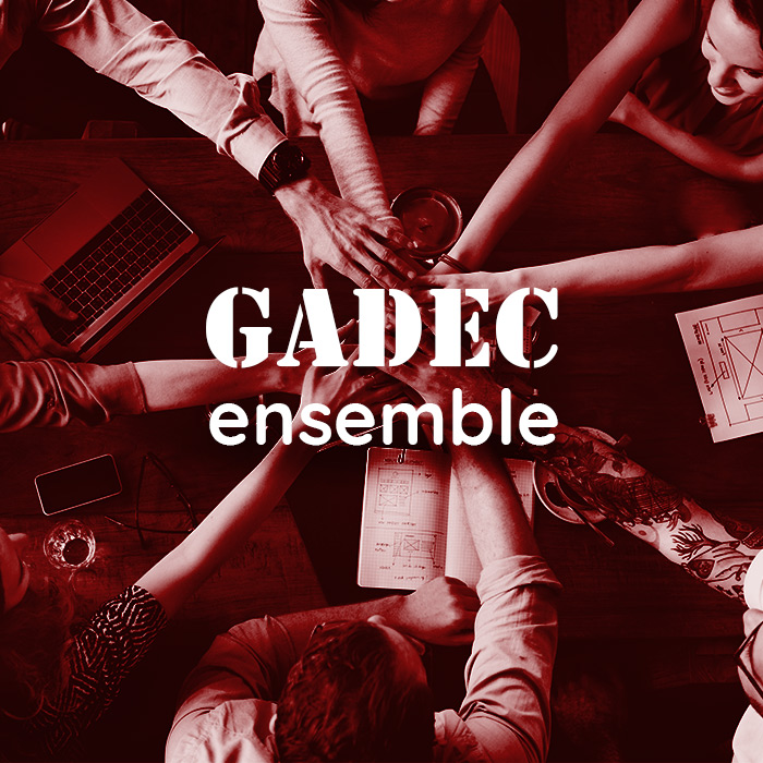 mains superposés, rejoindre l'équipe GADEC