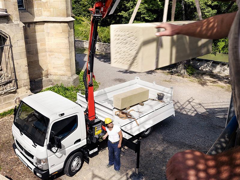Services GADEC : Livraison par camion-grue